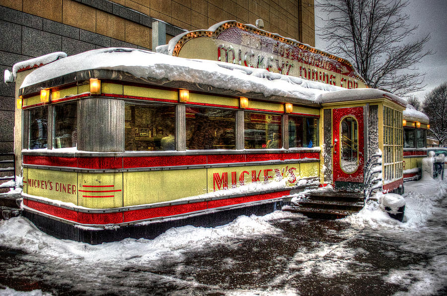 Mickey's Diner by Fred Potter